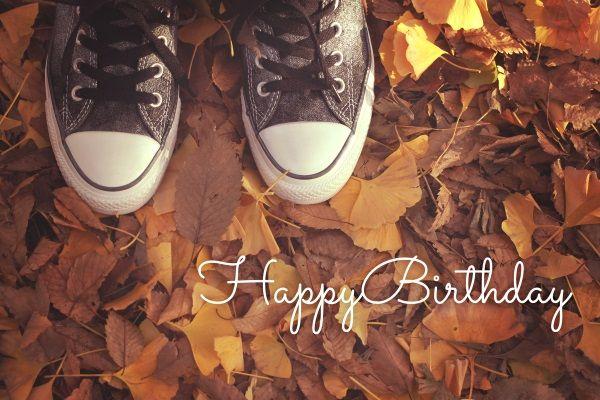 今日!秋生まれの方おめでとう!