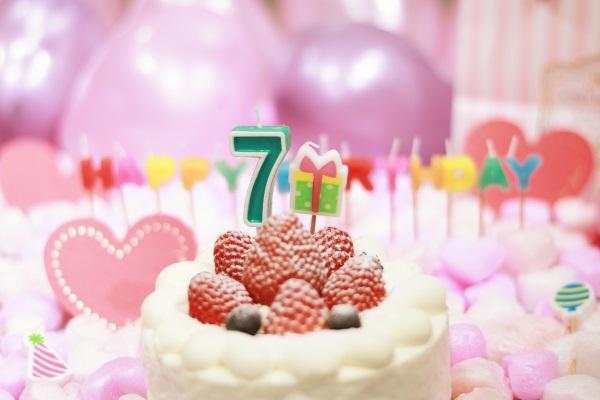 7日がお誕生日の方!誕生日ケーキです!