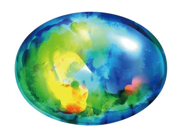 オパール石