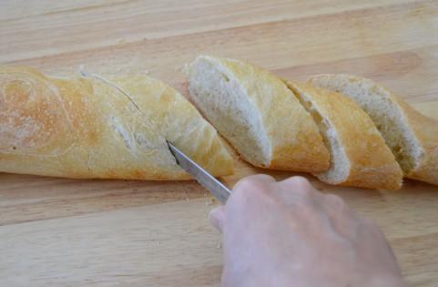 フランスパンの調理
