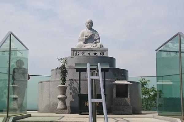 空海 弘法大師像