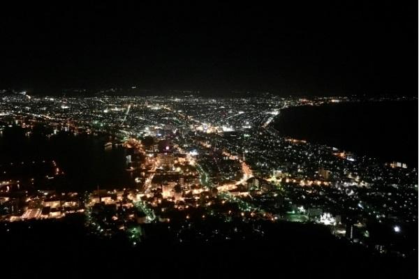 函館のキレイな夜景