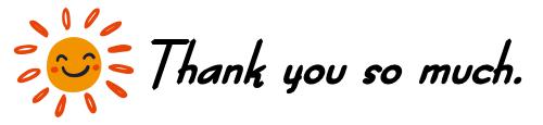 いつもよんでいただきありがとうございます!