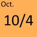 10月4日