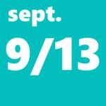 9月13日