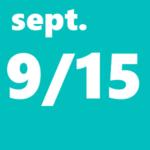 9月15日