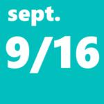 9月16日