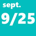 9月25日