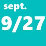 9月27日
