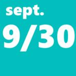 9月30日