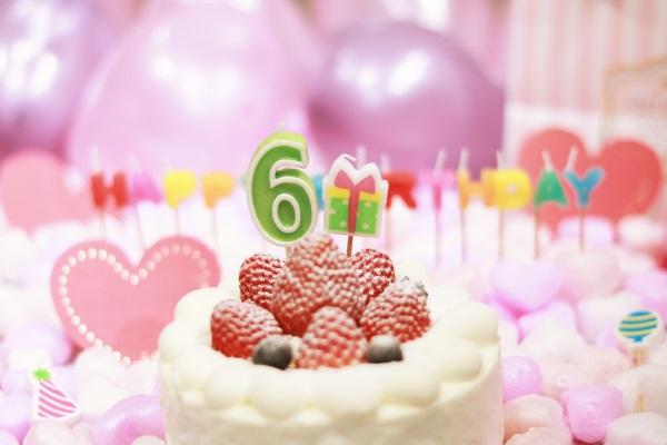 6日のお誕生日祝い