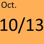 10月13日