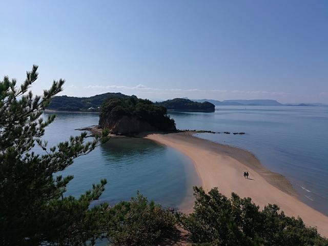 小豆島 エンジェルロード