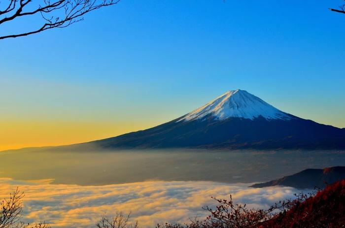 日本一高い山 富士山