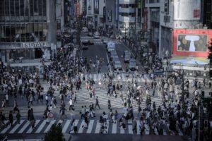 東京人口密集