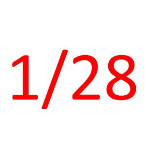1月28日