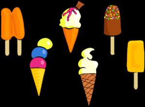 いろんなアイスクリーム