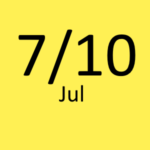 7月10日