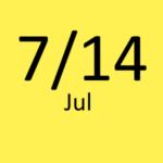 7月14日
