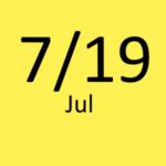 7月19日